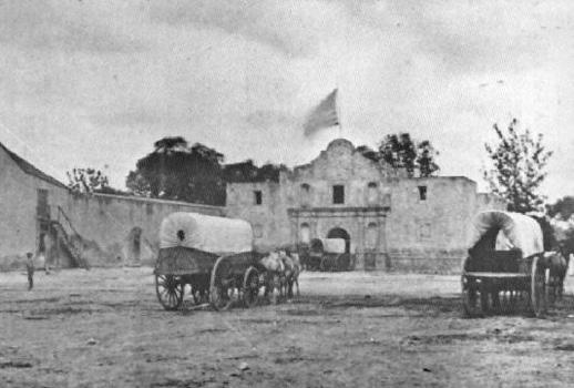 El Alamo • San Antonio, Texas • 1836 • Gloriam Deo • Honor and Praise to the Maker of All Things